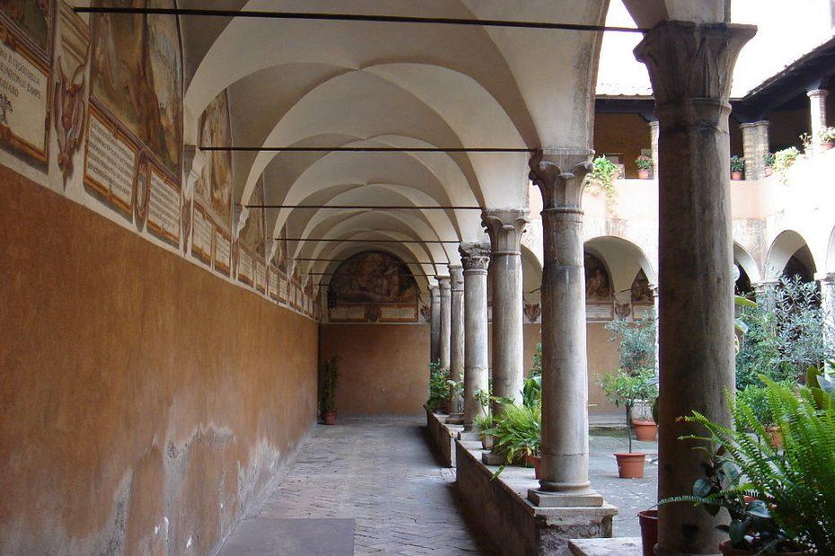 Die Kirche Sant'Onofrio