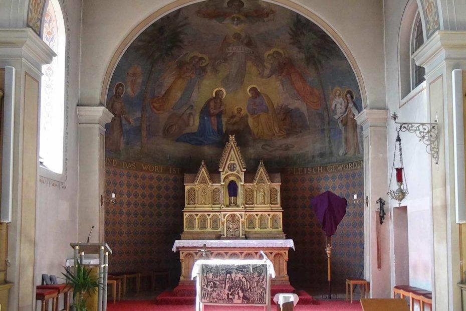St. Theresia - Altarraum